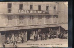 """46 -- Souillac -- Grands Magasins """" A La Grande Fabrique """" -- Lascoux - Souillac"""