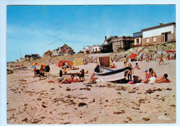 Cpm  AGON COUTAINVILLE  - LE PASSOUS  : La Plage Du Passous 1974  (   0198 ) - Equeurdreville