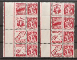 BELGIQUE 1932 - PUBBLICITAIRES N.63/66  GOMME ORIGINELLE INTEGRE - Pubblicitari