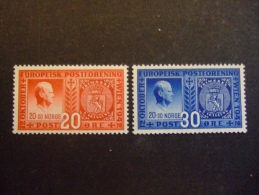 NORWAY  1942   MICHEL 274/75        MNH**     (045200-NVT) - Europese Gedachte