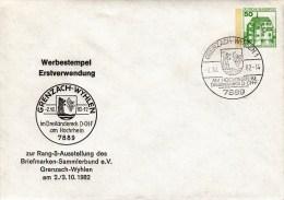 PU 113/48  Briefmarken-Sammlerbund E.V. Rang 3 Ausstellung 1982, Grenzach-Wyhlen - BRD