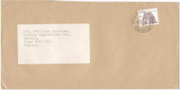 IRLANDA - EIRE - 1989 - 28 - Viaggiata Per Harwich, England - Storia Postale