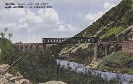 3-3505- Gorizia Nuovo Ponte Sull´Isonzo - Gorz Neue Salcanobrucke  - F.p. Non Viaggiata - Gorizia