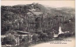 Cpa  CHATEAUNEUF LES BAINS Vue Panoramique Du Chateau - Frankrijk
