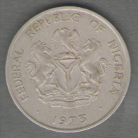 NIGERIA 5 KOBO 1973 - Nigeria