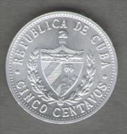 CUBA 5 CENTAVOS 1971 - Cuba