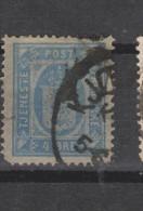 Yvert 6 Oblitéré Dentelé 14 X 13 1/2 - Service