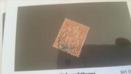 LOT 229476 TIMBRE DE COLONIE GUYANE OBLITERE N�39 VALEUR 18 EUROS