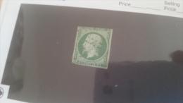 LOT 229489 TIMBRE DE FRANCE OBLITERE N�12 VALEUR 100 EUROS