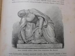 Statue - St. Ludmilla - St. Vitus Church -   Czech Republic - Old Print 1896  OM.12.II.425 - Estampas & Grabados