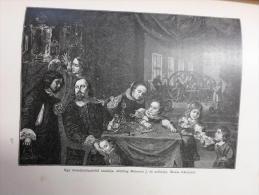 Karel Skreta  - Kristályköszörűs -  J.Miseroni's  Crystal's Workshop -  Czech Republic - Old Print 1896  OM.12.II.451 - Estampas & Grabados