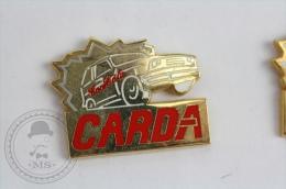 CARDA Car - Coca Cola Advertising Red Colour Pin Badge #PLS - Coca-Cola