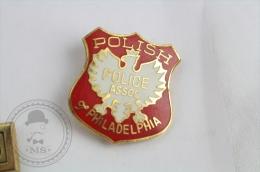 Polish Police Association Of Philadelphia - Pin Badge #PLS - Policia