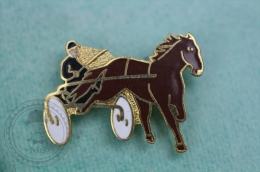 Horse Harness Racing - Pin Badge #PLS - Pin