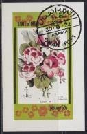 Oman State 1972 Flowers, Block, Used (o) - Oman