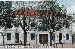 AK Burgenland Mattersburg Neudorfl A.d.Leitha JOSEF  GREINER'S GASTHAUS ,LAJTASZENTMIKLOS  ALTE POSTKARTE 1912 - Österreich