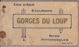 Carnet De 20 CPÄ Gorges Du LOUP - France