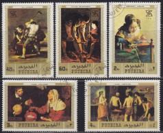 United Arab Emirates - Fujeira 1971 International Labor Organization (ILO), Used (o) - Fujeira