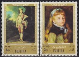United Arab Emirates - Fujeira 1972 Children's Day - Airmail, Used (o) - Fujeira