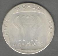 ARGENTINA MUNDIAL DE FUTBOL FIFA WORLD CUP 1978 AG SILVER - Gettoni E Medaglie