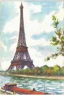 Paris Tour Eiffel Aquarelle - Eiffelturm