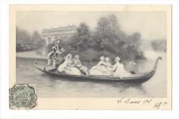 10411 - Sérénade à Bord D'une Gondole Et Gondelier - Noces