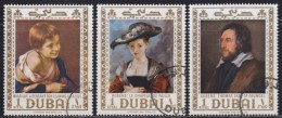 United Arab Emirates - Dubai 1967 Famous Paintings Of The National Gallery In London, Used (o) - Dubai