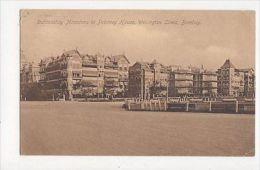 Dathoobhoy Mansions Wellington Lines Bombay 1916 India Vintage Postcard 184a - India