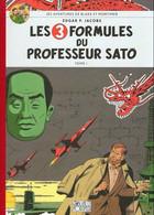 BD BLAKE ET MORTIMER - 11 - Les 3 Formules Du Professeur Sato Tome I - Edition Le Soir / Le Monde - Dos Toilé - TTBE - Blake Et Mortimer