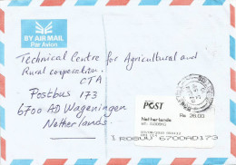 Mauritius Maurice 2010 Rose Hill CC4 (counter) Post Office Meter Franking Postage Paid EMA Cover - Mauritius (1968-...)