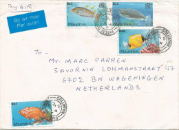 Mauritius Maurice 2001 Riviere Du Rempant Lethrinus Naso Fish Cover - Mauritius (1968-...)