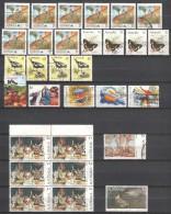 Australia - Canceled Collection With Many $-values - 1980-89 Elizabeth II