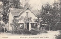 Thematiques 61 Orne Alençon Les Promenades Maison Du Garde - Alencon