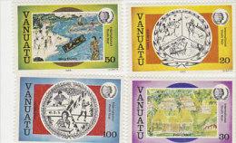 Vanuatu 1985 International Youth Year 401-404 MNH - Vanuatu (1980-...)