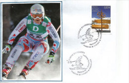 Histoire Du Ski En Andorre, Emission 2014. Un FDC - FDC