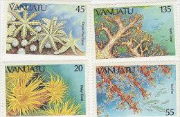 Vanuatu 1986 Coral 426-429 MNH - Vanuatu (1980-...)
