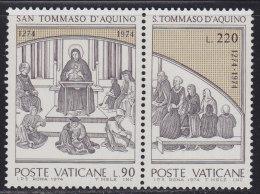 Vatican 1974 Thomas Aquinas, MNH (**) (2/3 Values) Michel 641-642 - Vatican
