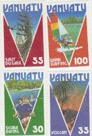 Vanuatu 1986 Tourism 410-413 MNH - Vanuatu (1980-...)