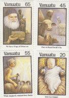 Vanuatu 1987 Christmas 461-464 MNH - Vanuatu (1980-...)