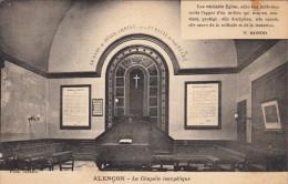 Thematiques 61 Orne Alençon Lieu De Culte La Chapelle évangélique Intérieur Texte W .Monod - Alencon