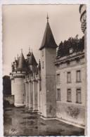 CPM PHOTO DPT 86 DISSAY, DOUVES ET ENTREE PRINCIPALE DU CHATEAU En 1952!! - France