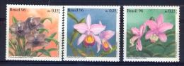 BRAZIL 1996 Orchids - Brazil