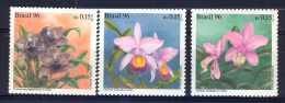 BRAZIL 1996 Orchids - Brasil