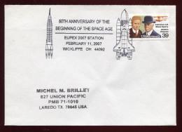 USA, 2007 , SPACE, - FDC & Commemoratives