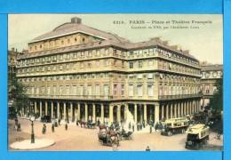 CP, 75, PARIS, Place Et Théâtre Français Construit En 1783, Vierge - France
