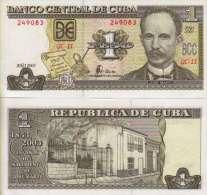 Cuba 1 PESO (2003) Pick 121b NEUF - UNC