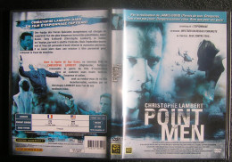 DVD Video : POINT MEN Avec Christophe LAMBERT Film D'espionnage - Action, Adventure