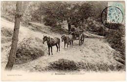 Arcachon - Voiture à Sable ( Coll. Faure ) - Arcachon