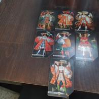 Bolivia-set History Card Urmat-(set 7 Cards)-used Card+4prepiad Free - Bolivie