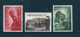 Belgique N°943 A 945  Timbres Neuf * Tres Légère Petite Trace De Charnière - Bélgica